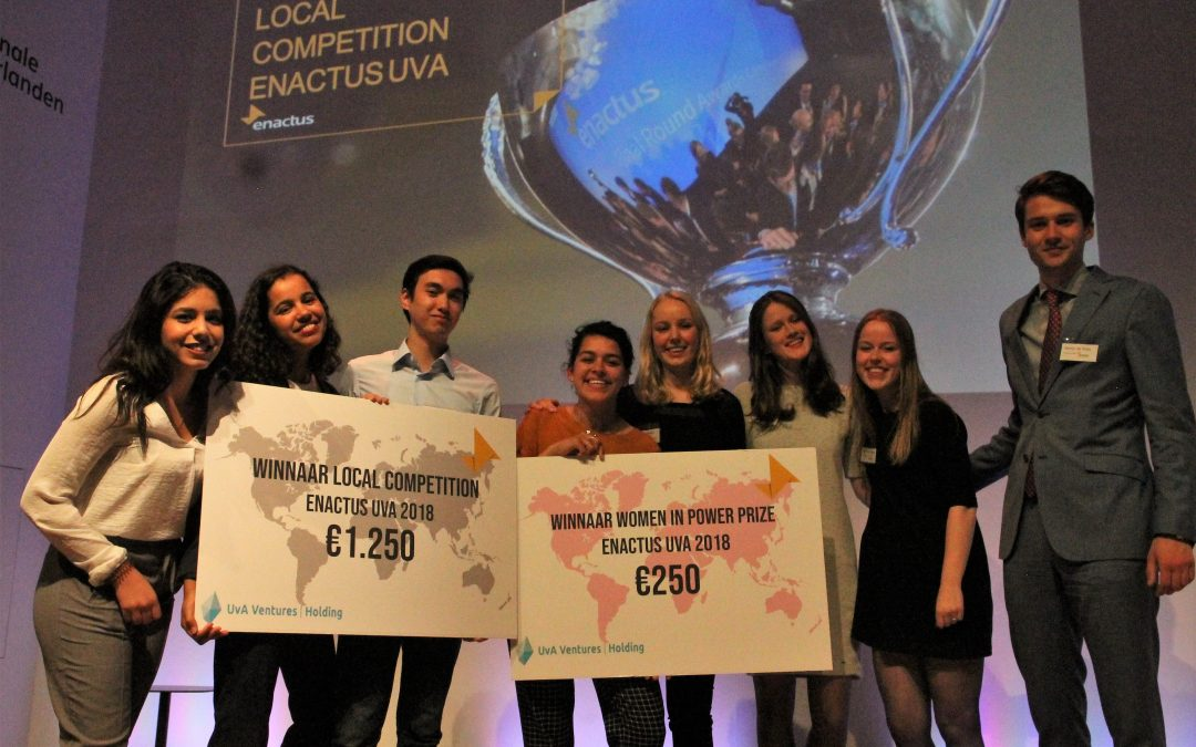 Enactus UvA doet verslag van Local Competition