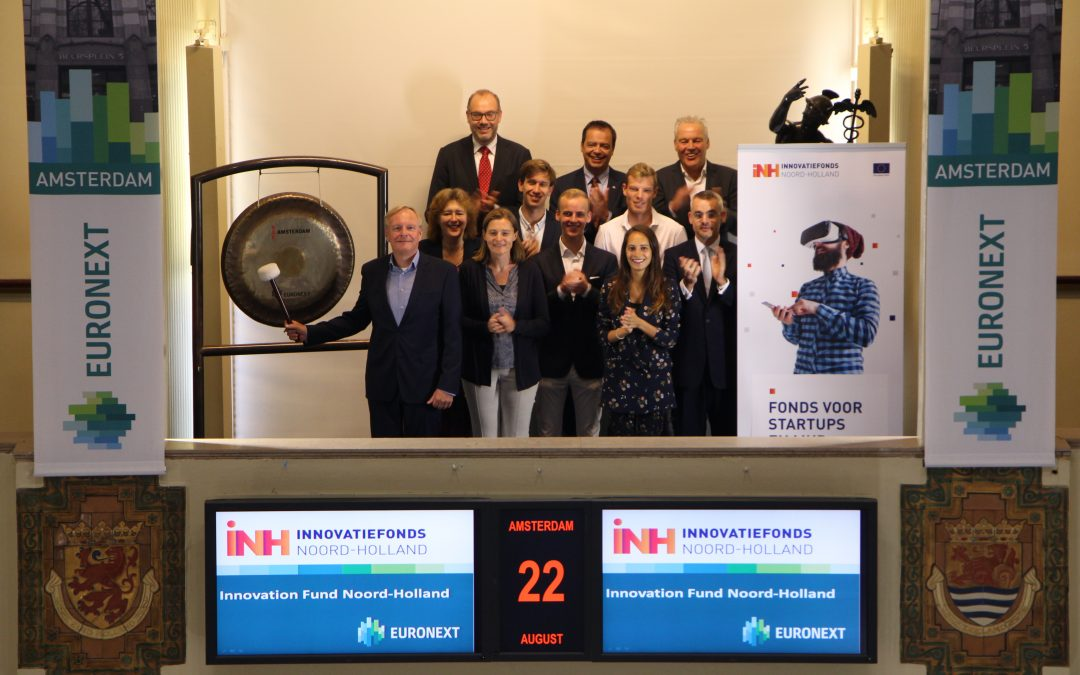 Innovatiefonds Noord-Holland opent de beurshandel