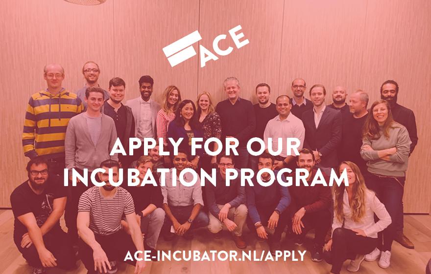 schrijf je nu in voor het ACE Incubation Program
