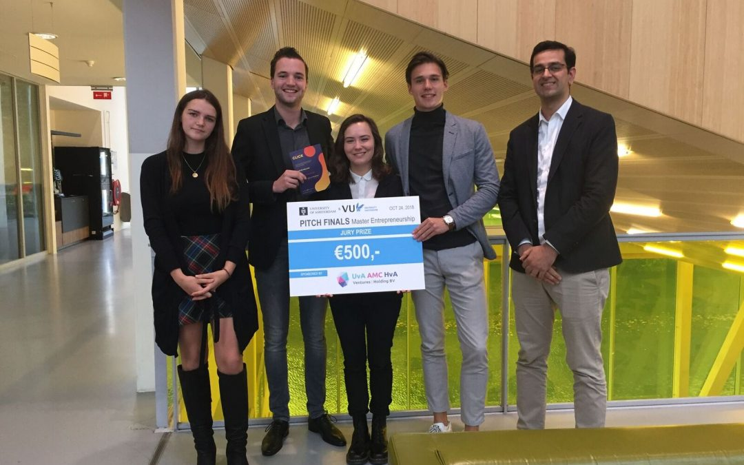 Startup Project Pitch Finals gewonnen door Eventpay