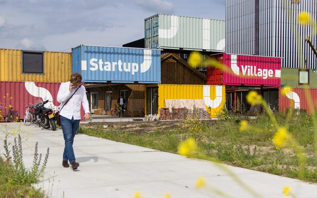 Artikel over Startup Village in het FD